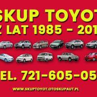 Kupię - Skup Toyot Carina Avensis Corolla i inne Stoczek Łukowski